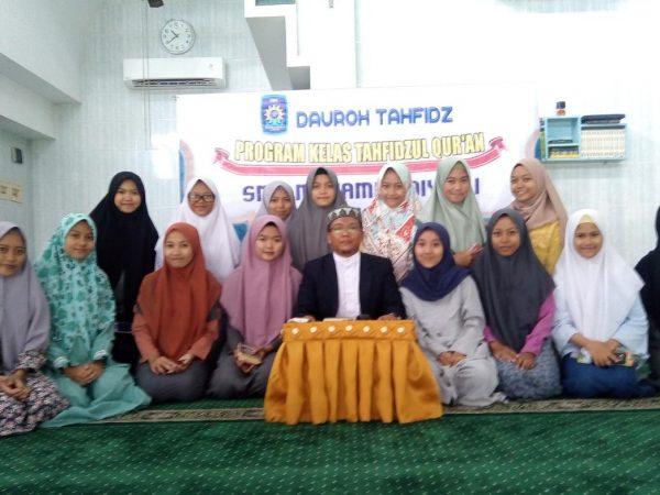 Kelas Tahfidz SMUTU