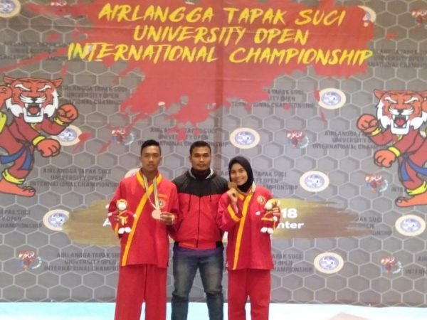 Juara Tapak Suci International Championship di UNAIR